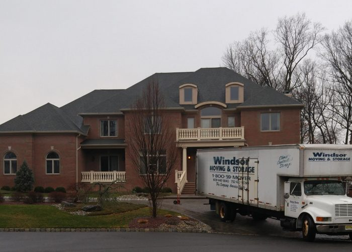 home w/ windsor moving truck